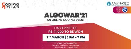AlgoWar'21   College of Engineering Pune