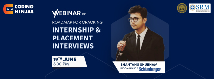 Cracking Placements & Internships|SRM Institute of Science & Technology