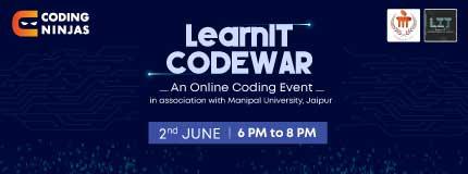LearnIT Codewar   Manipal University Jaipur
