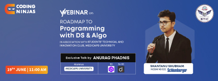 Roadmap to Programming With DS & Algo | Medi-Caps University