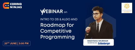 Introduction to DS & Algo and Roadmap to Competitive Programming |  Indian Institute of Technology Palakkad