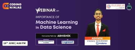 Importance Of Machine Learning In Data Science | College of Engineering Roorkee