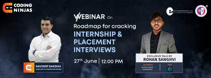 Roadmaps to Internship and Placement series | RV College Of Engineering