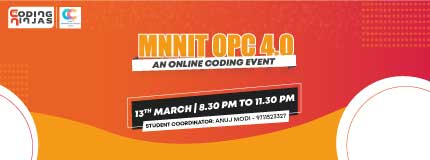 MNNIT OPC 4.0   MNNIT Allahabad