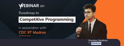 Roadmap to Competitive Programming | CDC, IIT Madras
