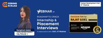 Roadmap to crack Internship  & Placements Interviews | CDC, IIT Madras