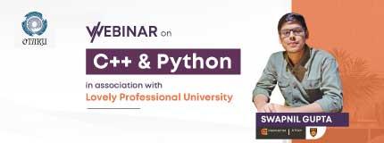 WORKSHOP ON C++ AND PYTHON|Lovely Professional University