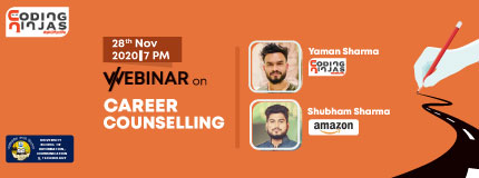 CN Career Counselling Webinar by Alumnus, USICT