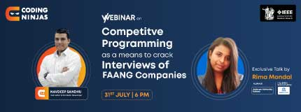 Competitive Programming as a means to crack SDE interviews for FAANG companies | IEEE Jadavpur University