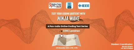 Ninja Wave at Chandigarh Group of Colleges, Landran