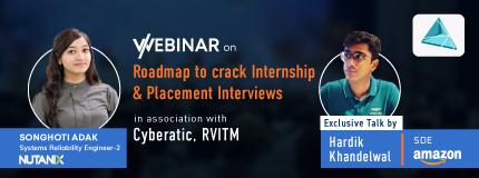 Roadmap to Crack Internships and Placement Interviews | Cyberatic, RVITM, Bangalore