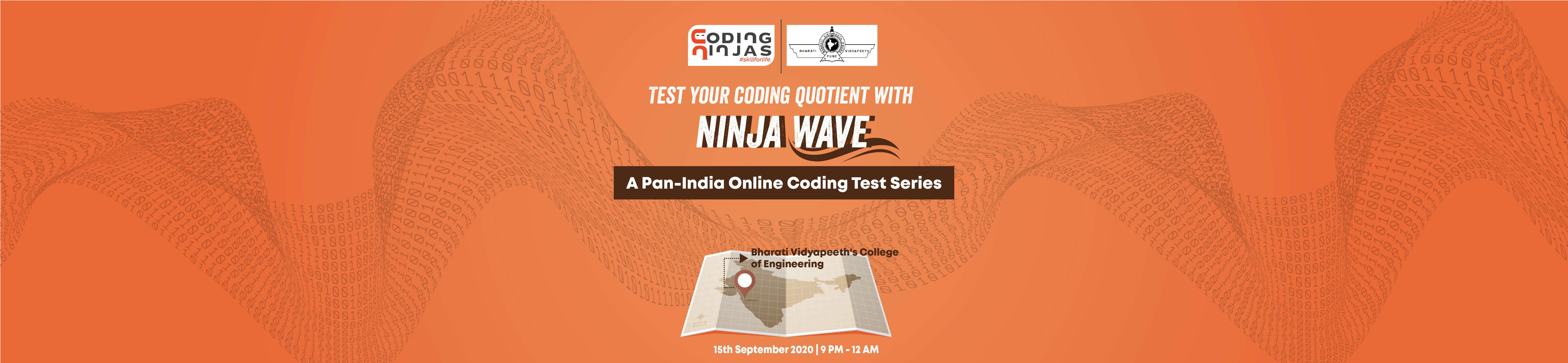Ninja Wave at Bharati Vidyapeeth's College of Engineering