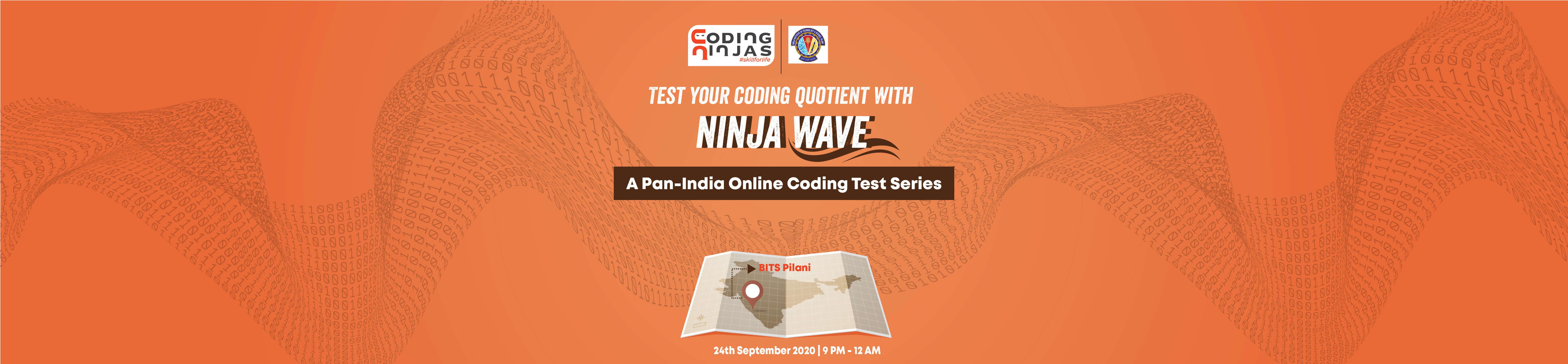 Ninja Wave at BITS, Pilani