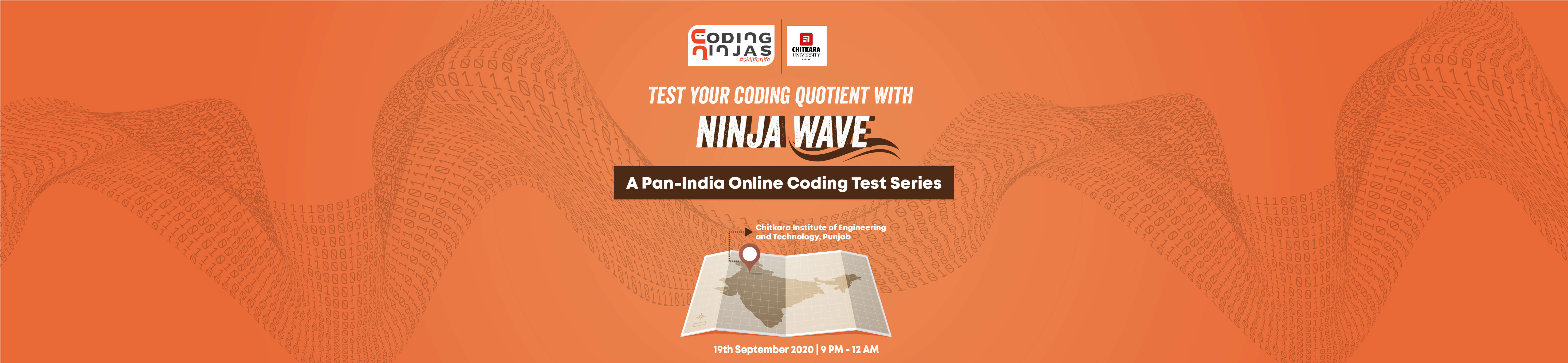 Ninja Wave at Chitkara Institute of Engineering and Technology, Punjab