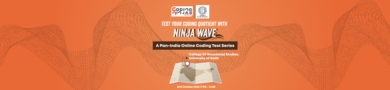 Ninja Wave at College of Vocational Studies, University of Delhi