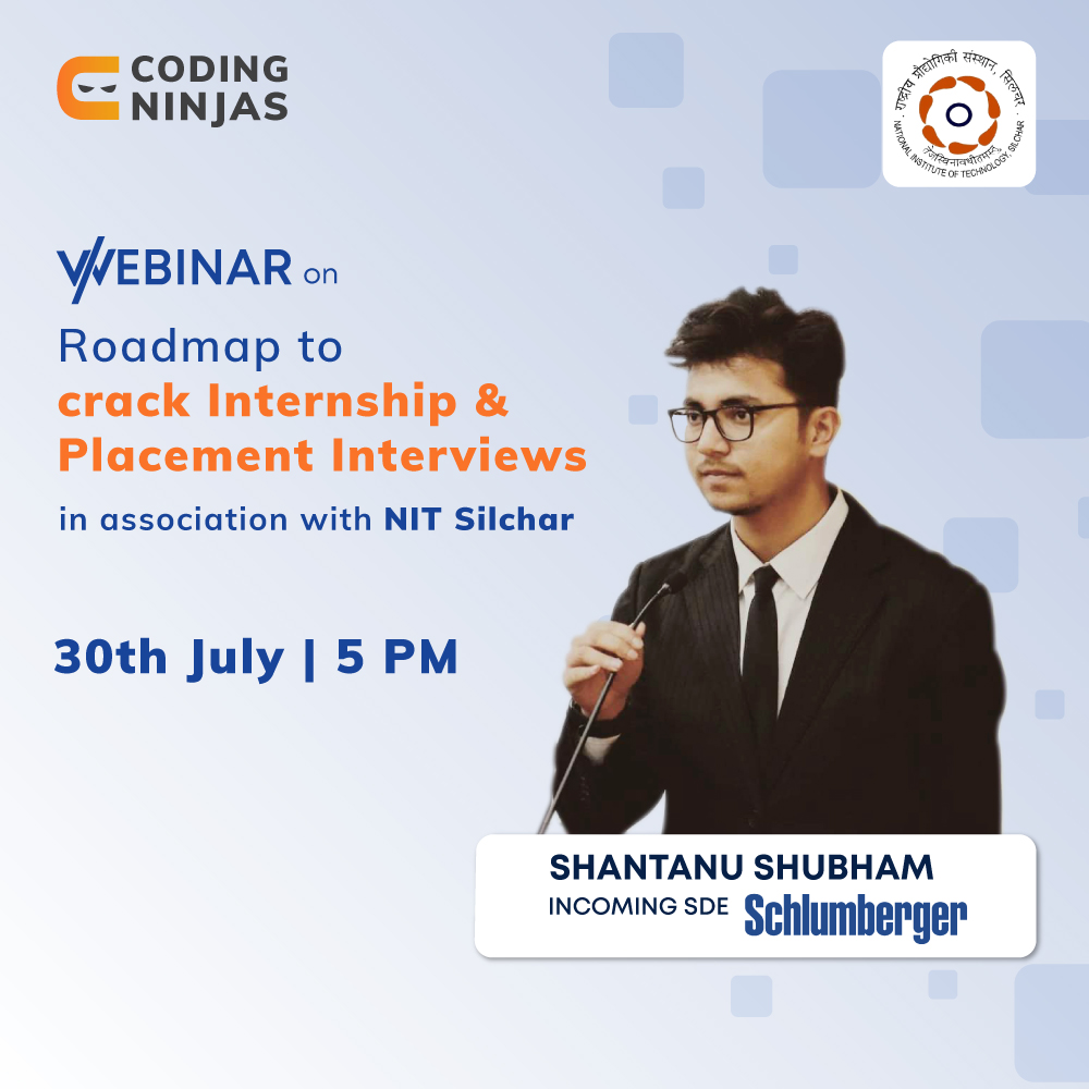 Roadmap to Internship and Placement Preparation| NIT Silchar