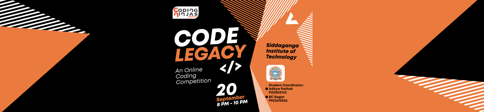 "Code Legacy at ""Siddaganga Institute of Technology"""