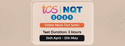 TCS NQT 2021 Mock test series