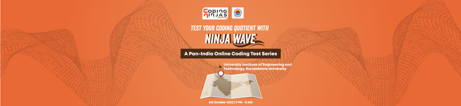 Ninja Wave at University Institute of Engineering and Technology, Kurukshetra