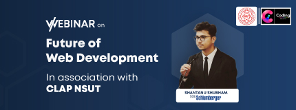 Future of web development| CLAP NSUT