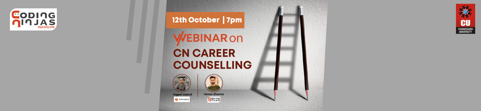 CN Career Counselling Webinar by Alumnus, CU